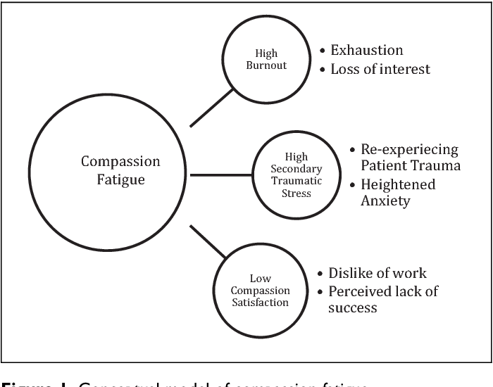figure 1 from compassion fatigue among palliative care clinicians