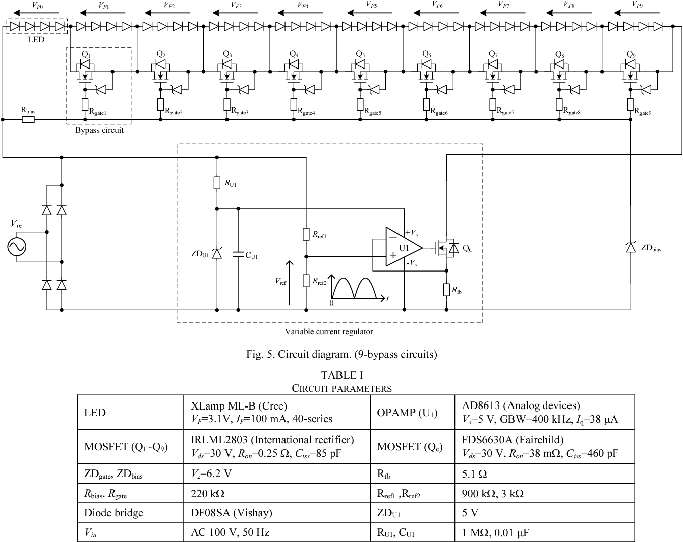 Linear Ac Led Driver With The Multi Level Structure And Variable Circuit Diagram Figure 5