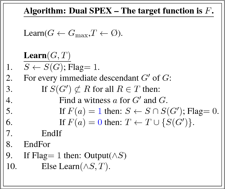 Figure 3 for Learning Disjunctions of Predicates