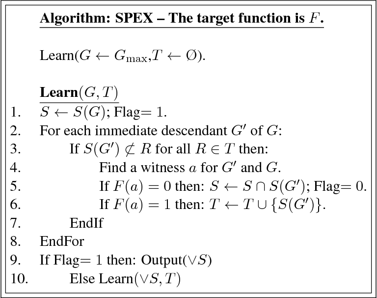 Figure 1 for Learning Disjunctions of Predicates