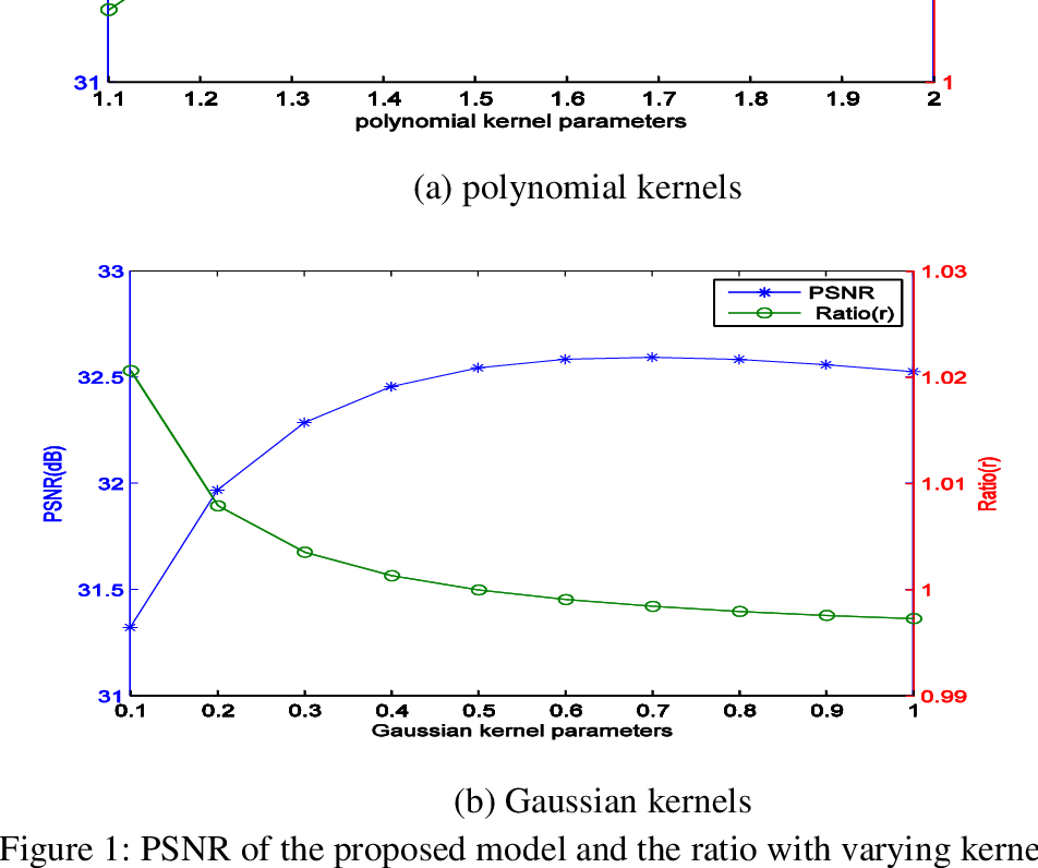 Figure 1 for A novel total variation model based on kernel functions and its application