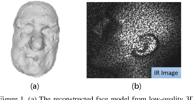 Figure 1 for Face Recognition from Sequential Sparse 3D data via Deep Registration