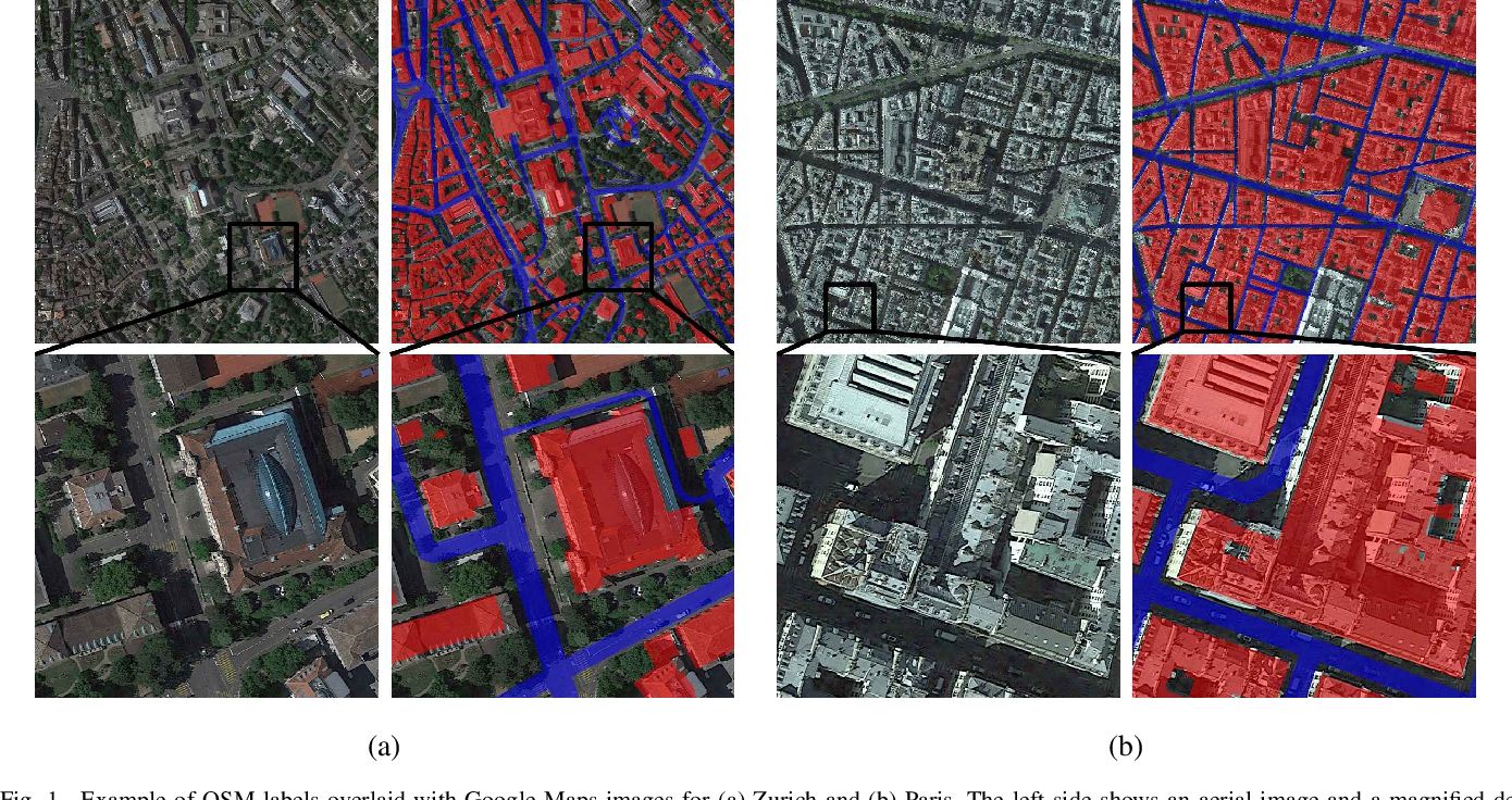 Figure 1 for Learning Aerial Image Segmentation from Online Maps