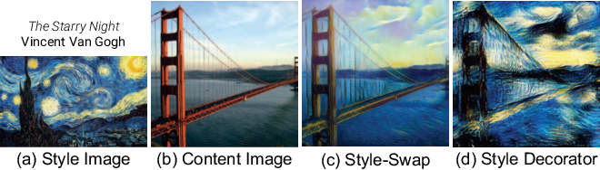 Figure 2 for Avatar-Net: Multi-scale Zero-shot Style Transfer by Feature Decoration