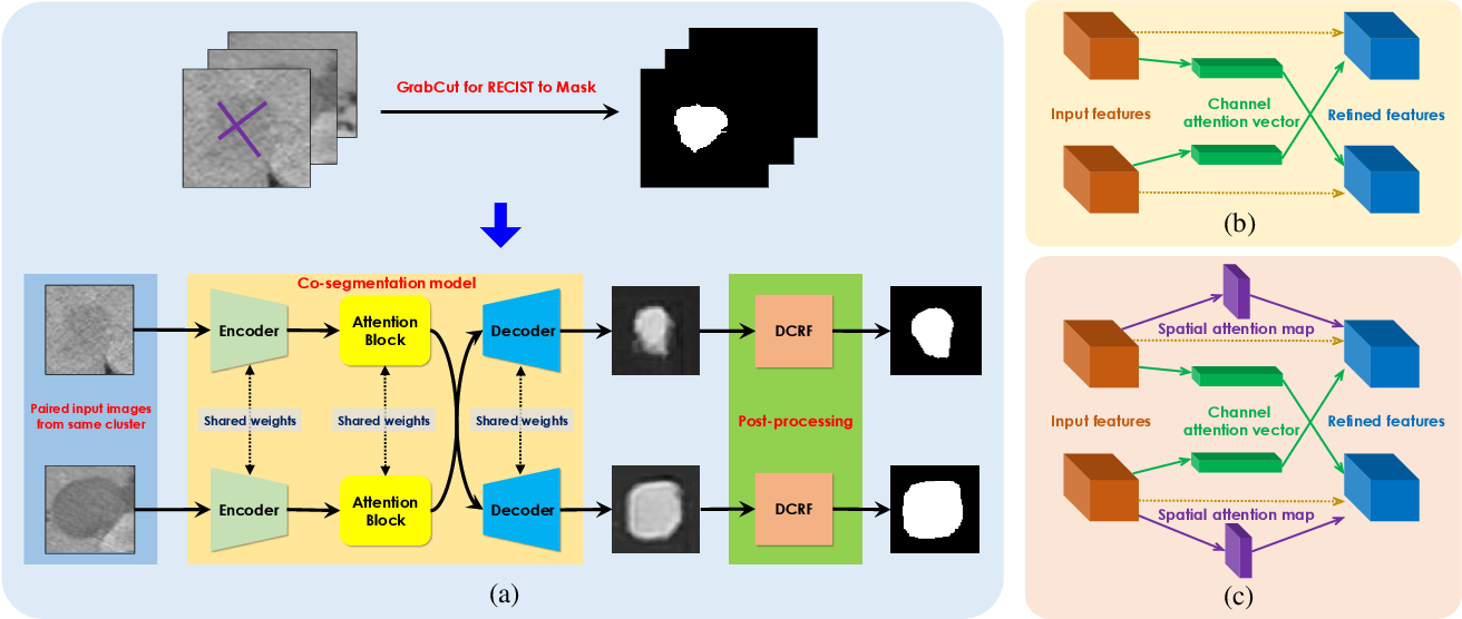Figure 1 for Weakly-Supervised Lesion Segmentation on CT Scans using Co-Segmentation