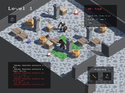 Figure 3 for Deep Policy Networks for NPC Behaviors that Adapt to Changing Design Parameters in Roguelike Games