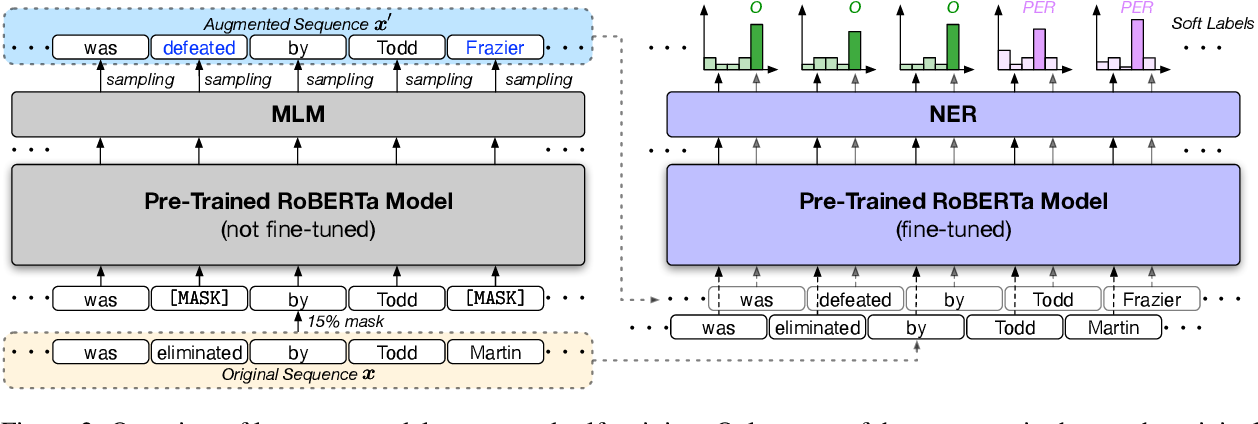Figure 3 for Distantly-Supervised Named Entity Recognition with Noise-Robust Learning and Language Model Augmented Self-Training