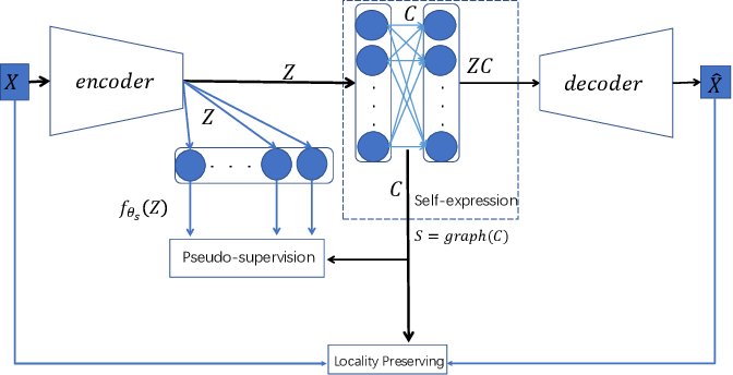 Figure 1 for Pseudo-supervised Deep Subspace Clustering