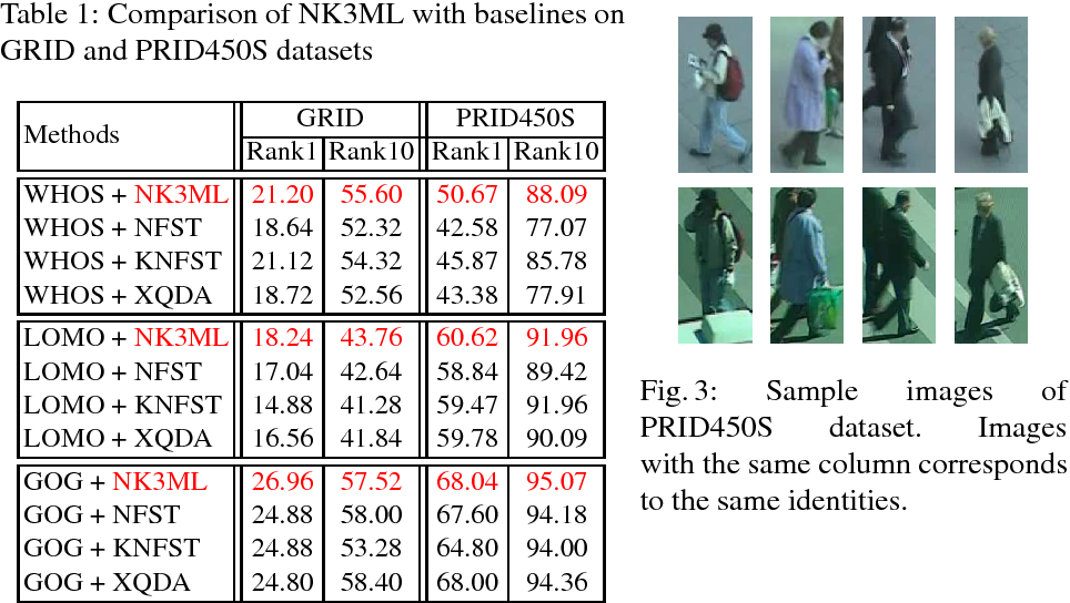 Figure 2 for Maximum Margin Metric Learning Over Discriminative Nullspace for Person Re-identification