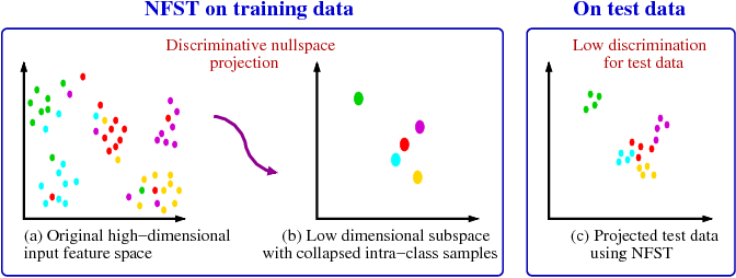 Figure 1 for Maximum Margin Metric Learning Over Discriminative Nullspace for Person Re-identification