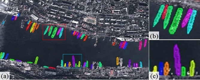 Figure 1 for Ship Instance Segmentation From Remote Sensing Images Using Sequence Local Context Module
