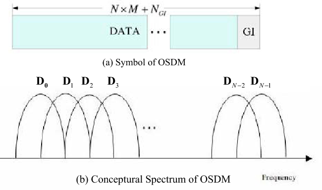 Fig. 4. Structure of the OSDM symbol.