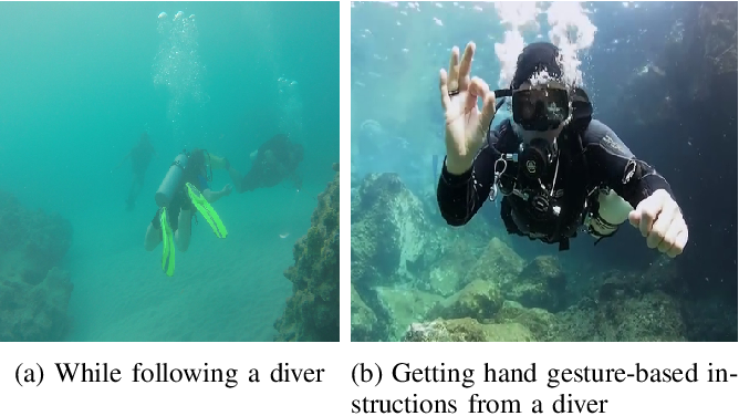Figure 1 for Understanding Human Motion and Gestures for Underwater Human-Robot Collaboration