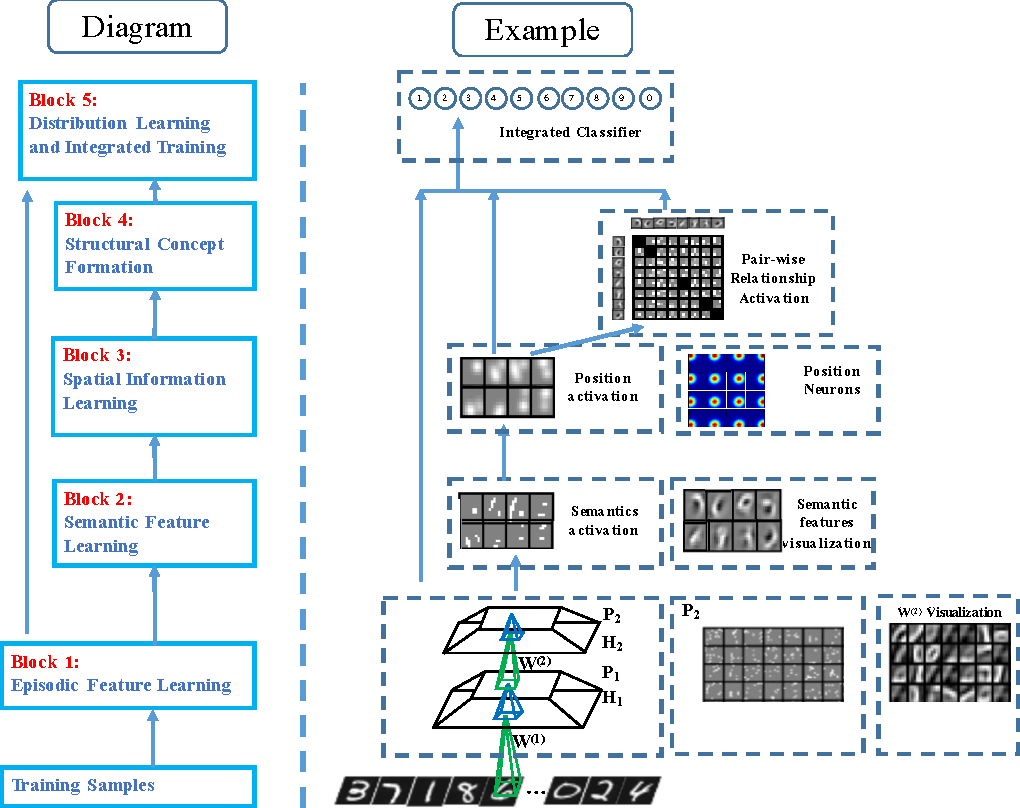 Figure 1 for A Novel Biologically Mechanism-Based Visual Cognition Model--Automatic Extraction of Semantics, Formation of Integrated Concepts and Re-selection Features for Ambiguity