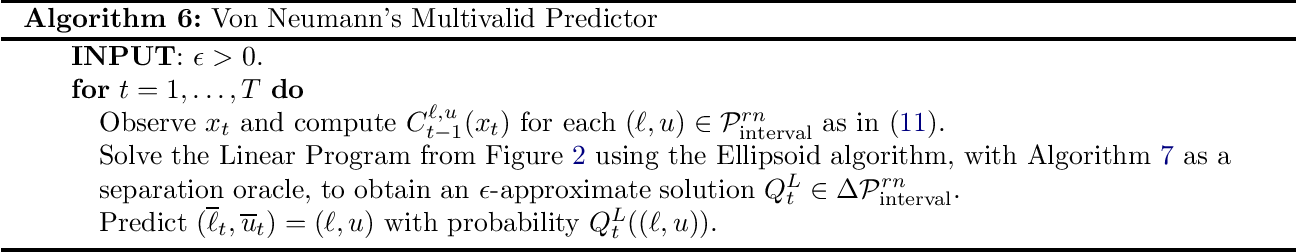 Figure 1 for Online Multivalid Learning: Means, Moments, and Prediction Intervals