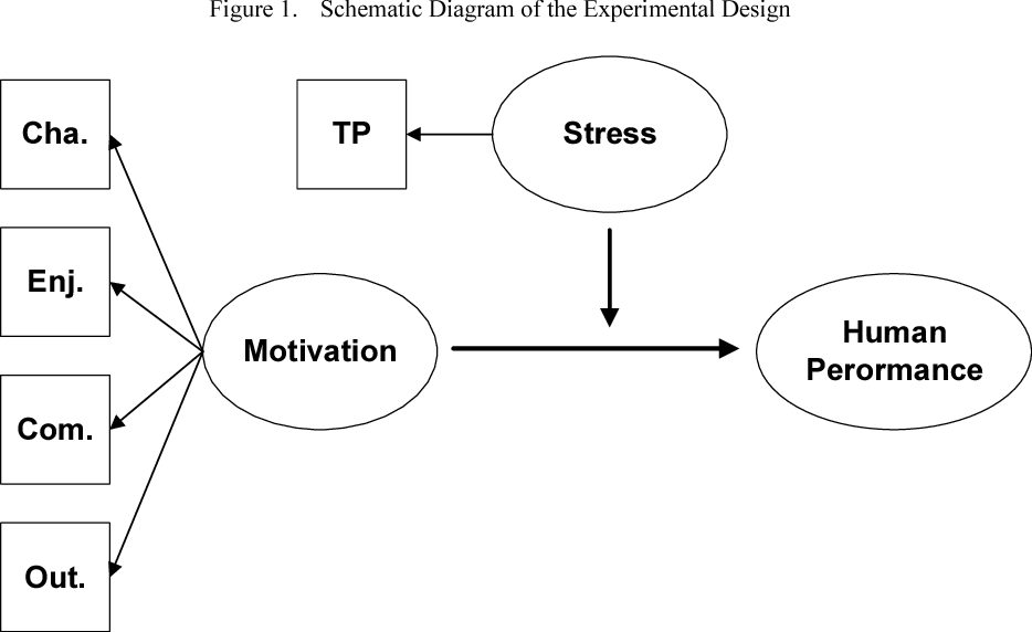 Relation Of Motivation Intensity Stress Levels And Human