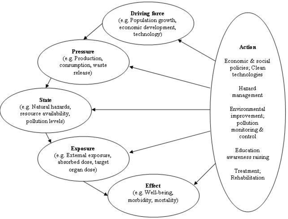A Review Of Frameworks For Developing Environmental Health
