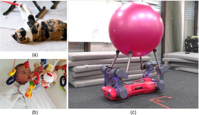 Figure 1 for Circus ANYmal: A Quadruped Learning Dexterous Manipulation with Its Limbs