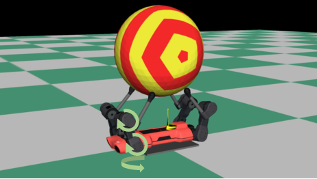 Figure 2 for Circus ANYmal: A Quadruped Learning Dexterous Manipulation with Its Limbs