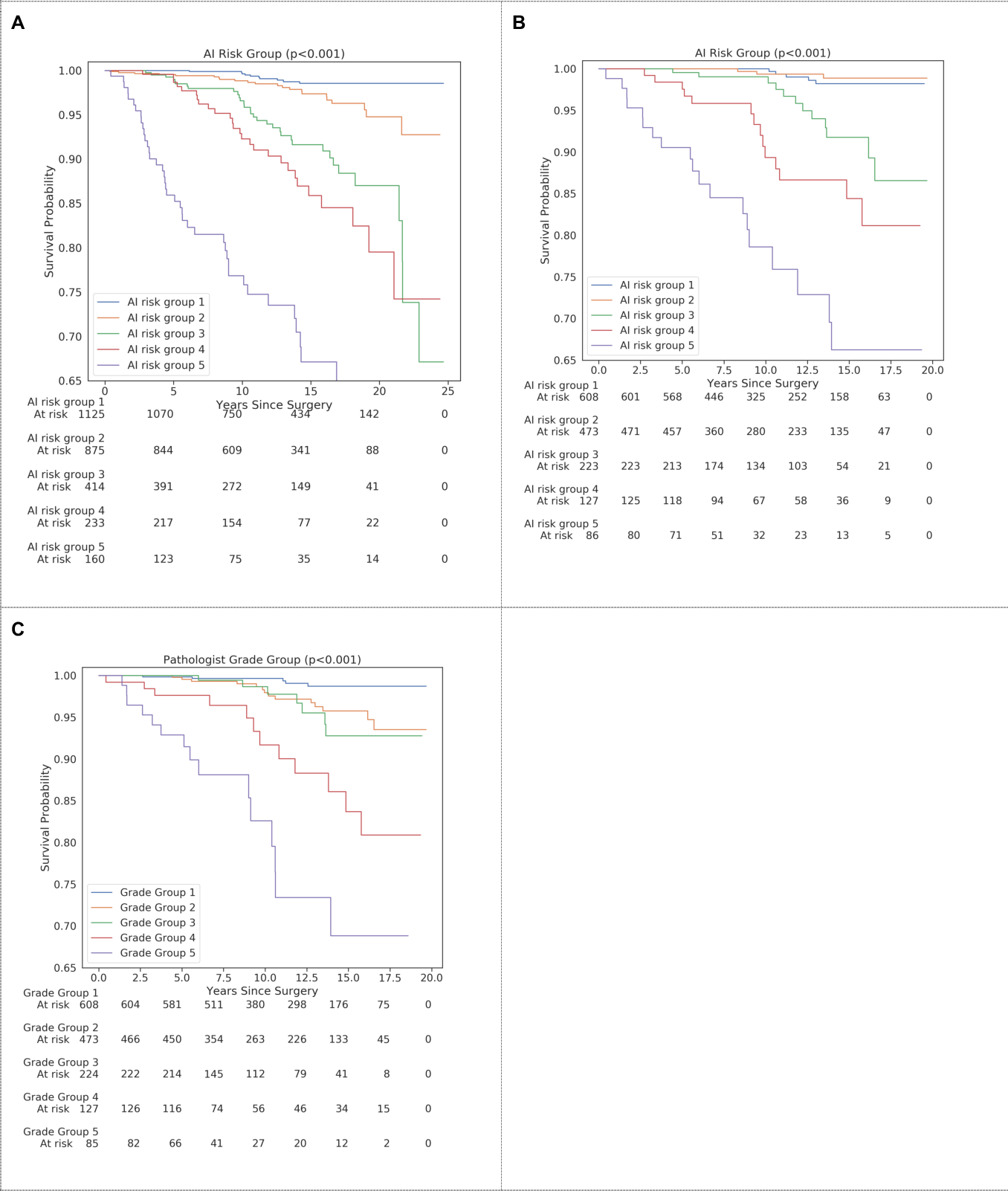 Figure 1 for Predicting Prostate Cancer-Specific Mortality with A.I.-based Gleason Grading