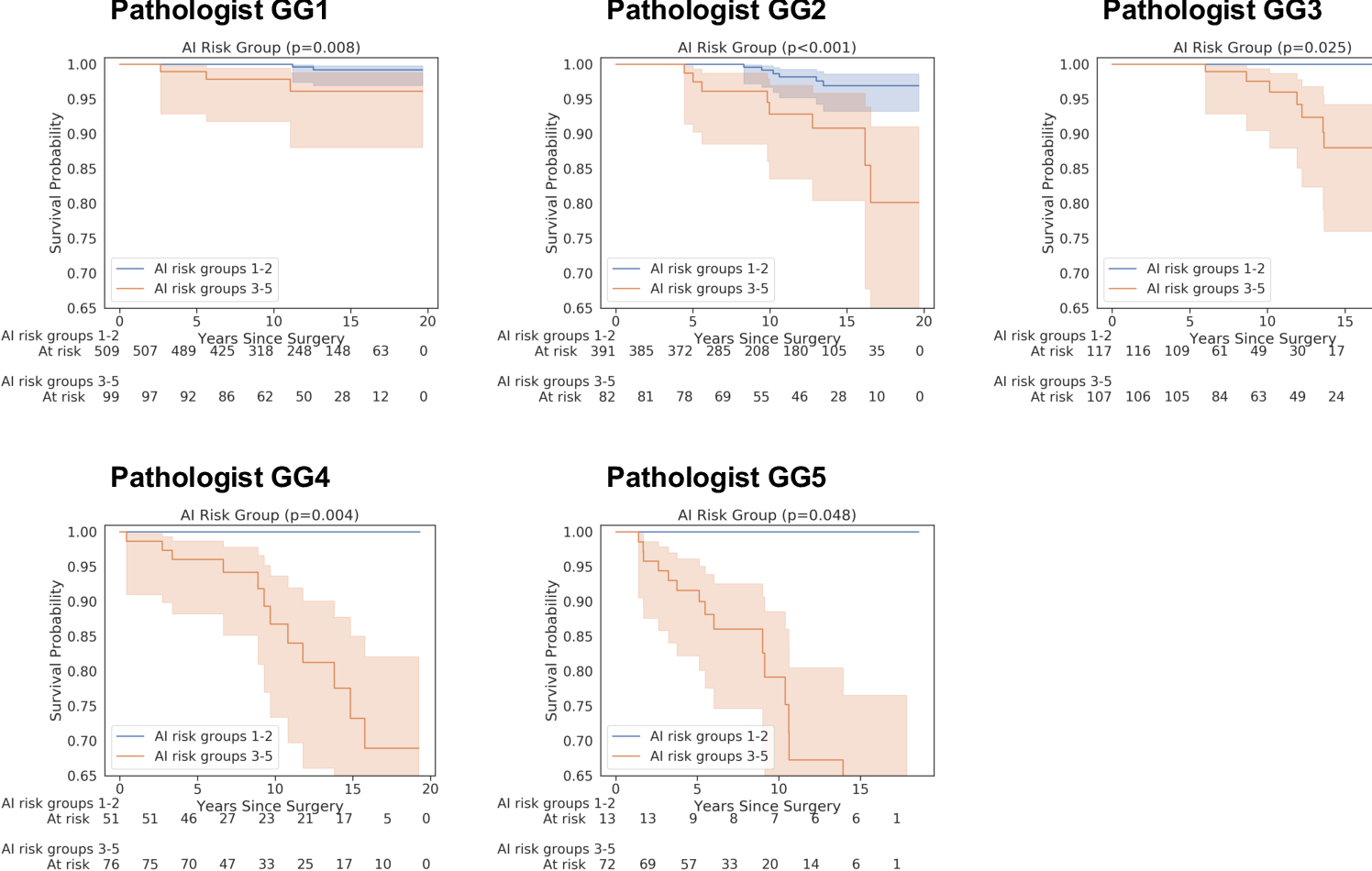 Figure 3 for Predicting Prostate Cancer-Specific Mortality with A.I.-based Gleason Grading