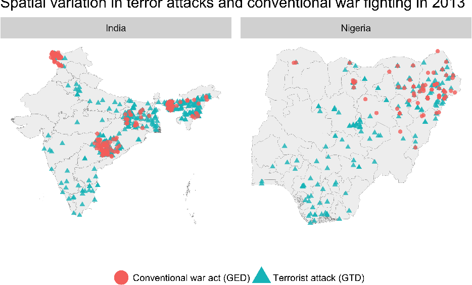Figure 1 for Measuring Territorial Control in Civil Wars Using Hidden Markov Models: A Data Informatics-Based Approach