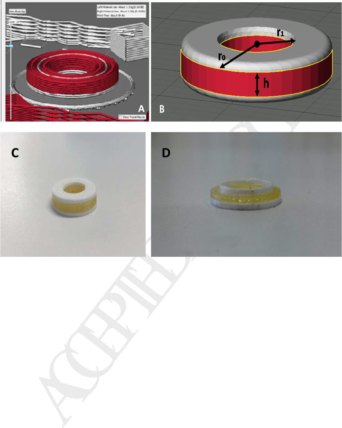 D printed oral solid dosage forms containing