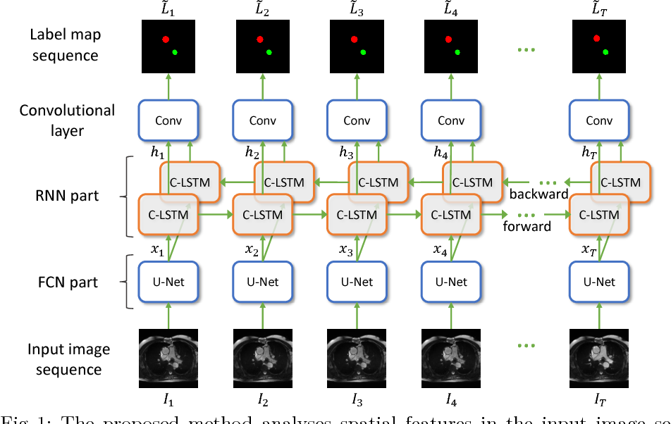 Figure 1 for Recurrent neural networks for aortic image sequence segmentation with sparse annotations