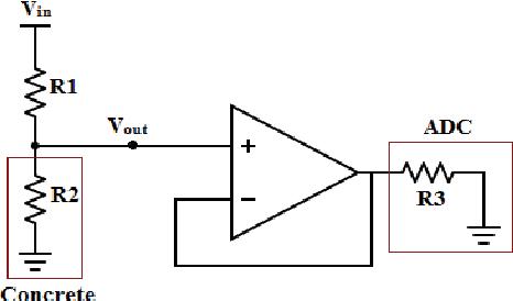 Fig. 2. Resistance Sensor Circuit