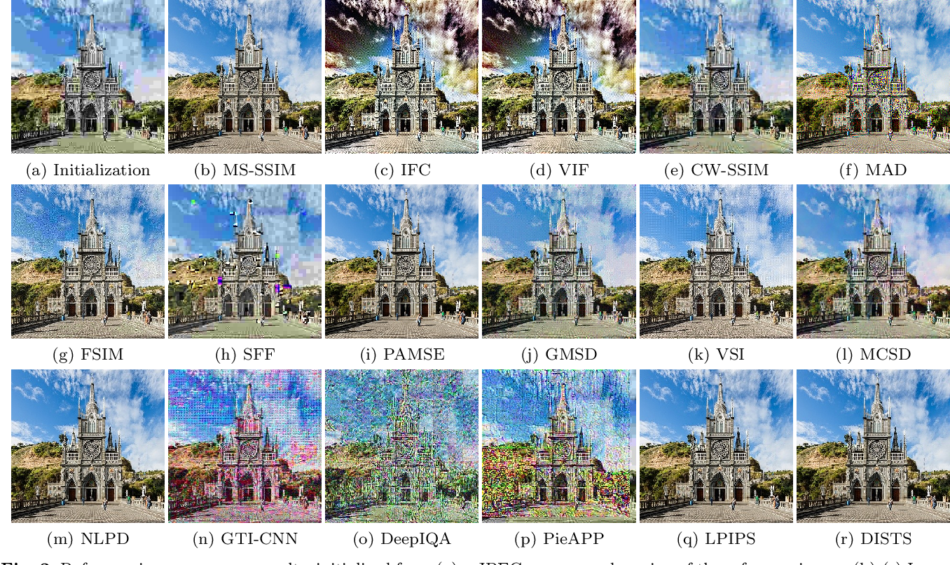 Figure 3 for Comparison of Image Quality Models for Optimization of Image Processing Systems