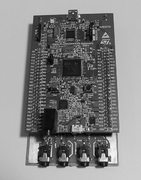 Figure 1 from Hands-on real-time DSP teaching using inexpensive arm