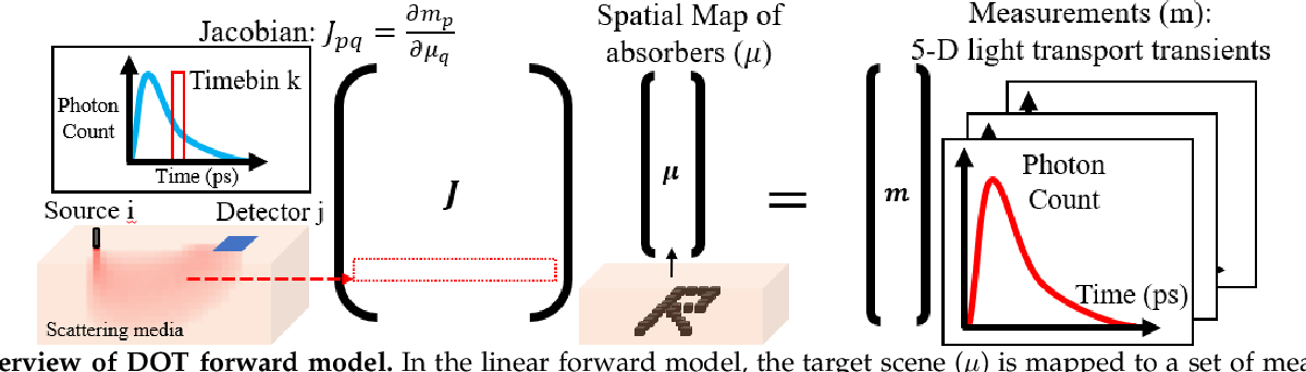 Figure 3 for High Resolution, Deep Imaging Using Confocal Time-of-flight Diffuse Optical Tomography