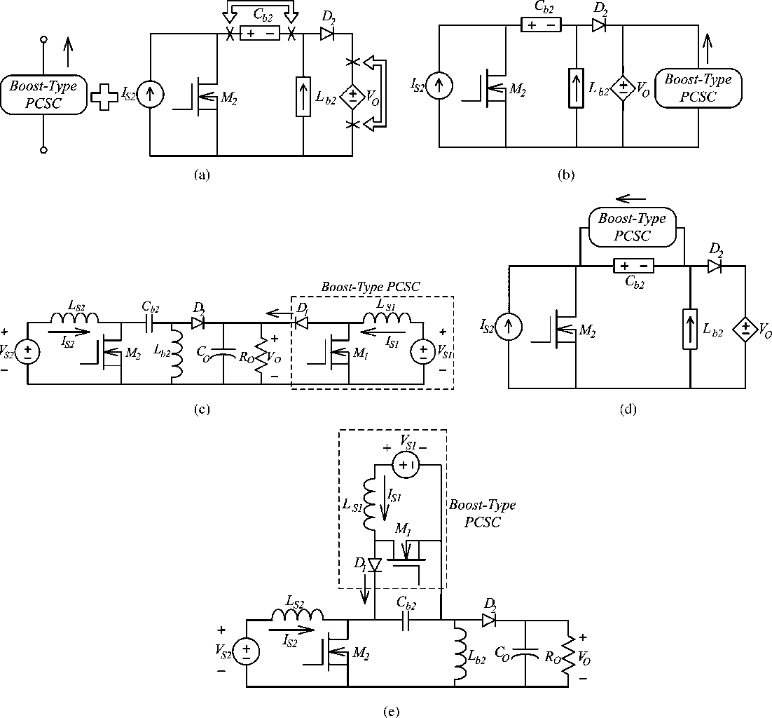 A Systematic Approach To Synthesizing Multi Input Dcdc Converters Dc Converter Circuit Diagram Semantic Scholar