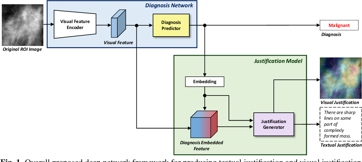 Figure 1 for Generation of Multimodal Justification Using Visual Word Constraint Model for Explainable Computer-Aided Diagnosis