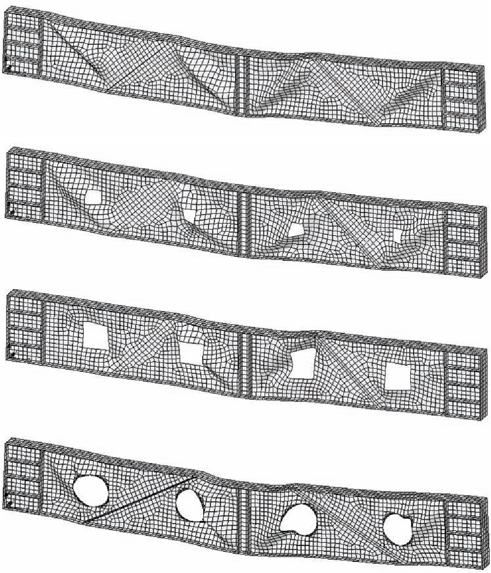 Figure 3 from Ultimate Load Behaviour of Perforated Steel