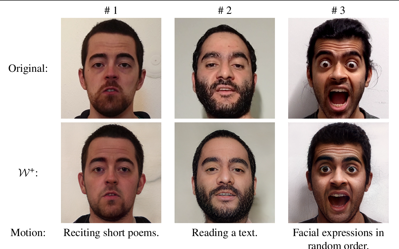 Figure 2 for StyleVideoGAN: A Temporal Generative Model using a Pretrained StyleGAN