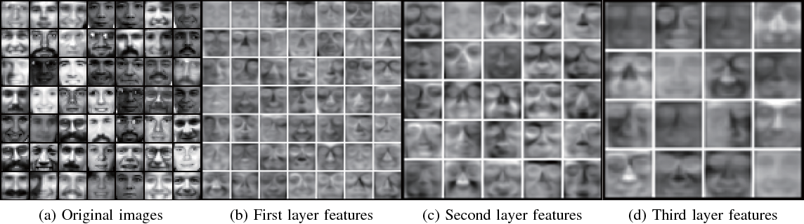 Figure 4 for Learning the Hierarchical Parts of Objects by Deep Non-Smooth Nonnegative Matrix Factorization