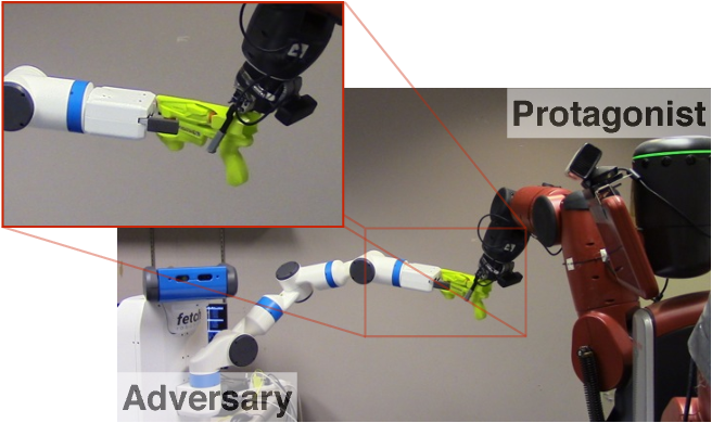 Figure 1 for Supervision via Competition: Robot Adversaries for Learning Tasks