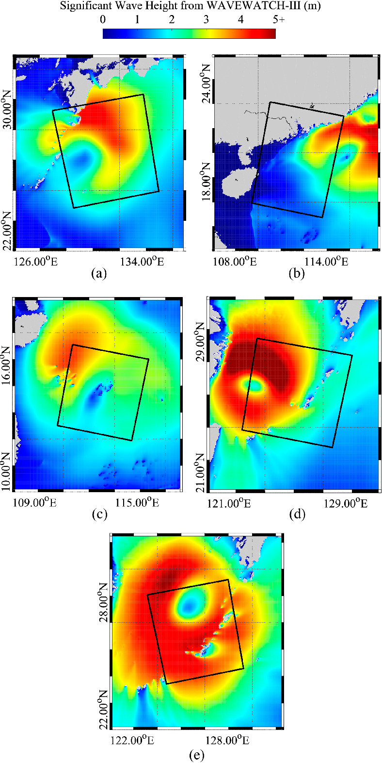 Figure 3 from A Promising Method of Typhoon Wave Retrieval