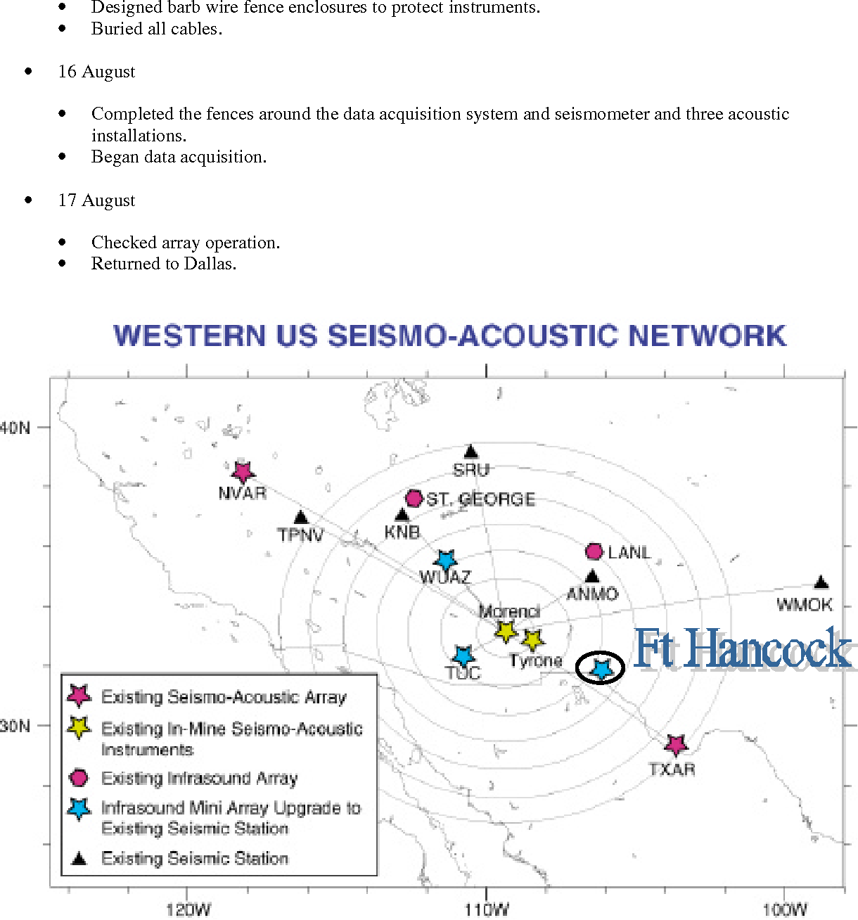Figure 3 From Installation Of The Ft Hancock Tx Seismo Acoustic Texas Gg Wiring Diagram 1
