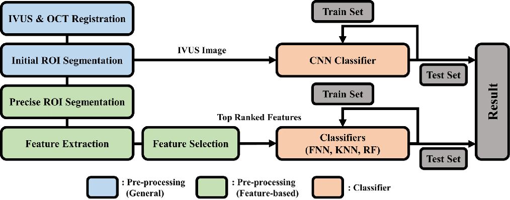 Figure 1 for Automated detection of vulnerable plaque in intravascular ultrasound images