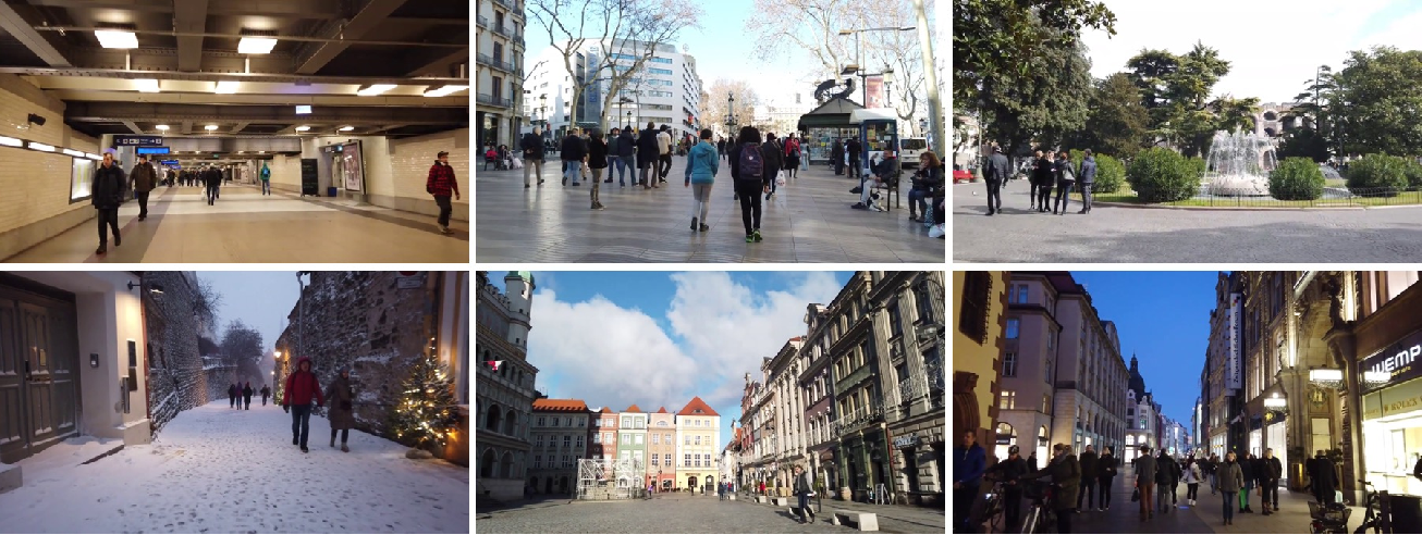 Figure 3 for Multiple Object Forecasting: Predicting Future Object Locations in Diverse Environments