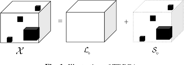 Figure 1 for Iterative Block Tensor Singular Value Thresholding for Extraction of Low Rank Component of Image Data