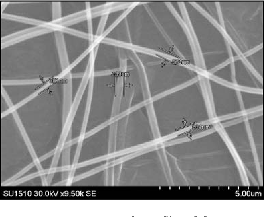 Fig. 2. Layer of nanofibers [6].