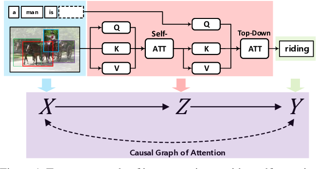 Figure 1 for Causal Attention for Vision-Language Tasks