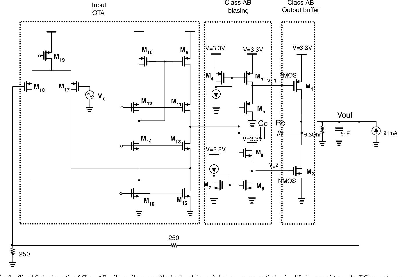 Audio Power Amplifier Semantic Scholar Class G Circuit Diagram Figure 3