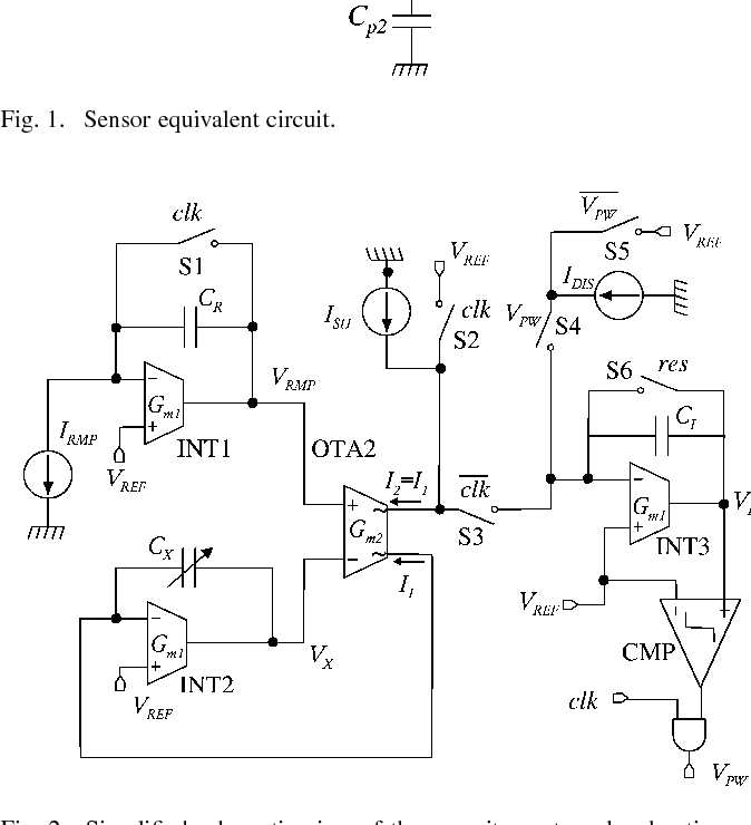 A Current Mode Dual Slope Integrated Capacitance To Pulse Duration