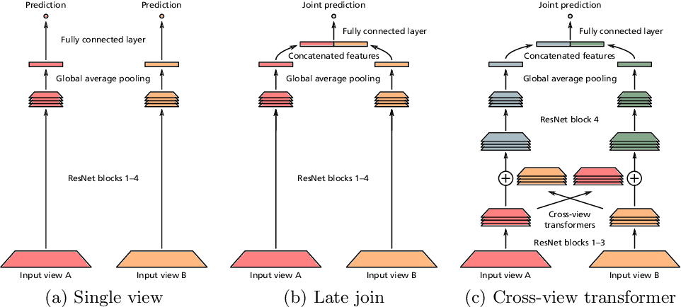Figure 1 for Multi-view analysis of unregistered medical images using cross-view transformers