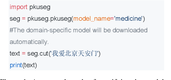 Figure 2 for PKUSEG: A Toolkit for Multi-Domain Chinese Word Segmentation