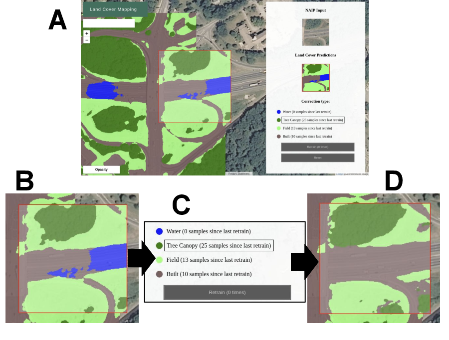 Figure 3 for Human-Machine Collaboration for Fast Land Cover Mapping